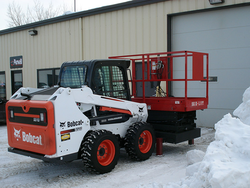 All-Terrain, All Weather Scissor Lift Attachment