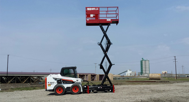 Skid-Lift Begins Production of Scissor Lift Attachments for Skid Steer Loaders and Tractors