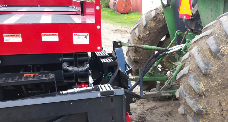Three-Point Mount to Tractor Hitch