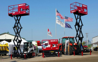 Skid-Lift at the Big Iron Farm Show in North Dakota