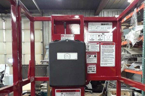 Hydraulic Controls on the Skid-Lift