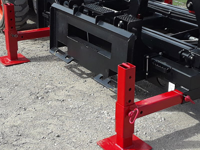 Skid Lift Quick Attach Plate