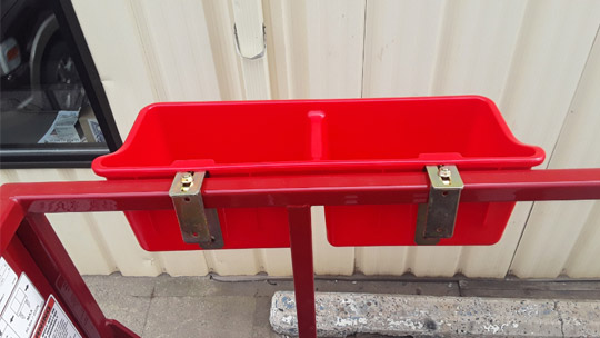 Skid-Lift Tool Caddy