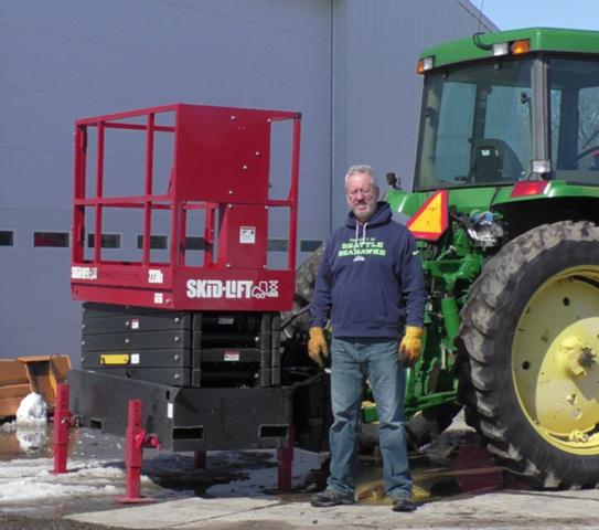 Skid-Lift on John Deere Tractor