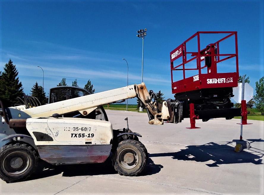 Terex Telehandler Lifting Skid-Lift Side Plate