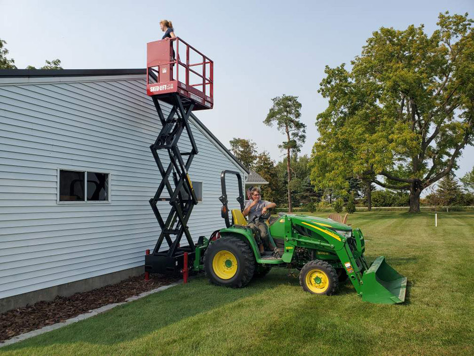 Using Skid-Lift for Painting