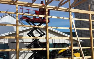 Skidsteer Lift for Construction