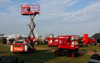 Skid-Lift at Farm Shows in 2017