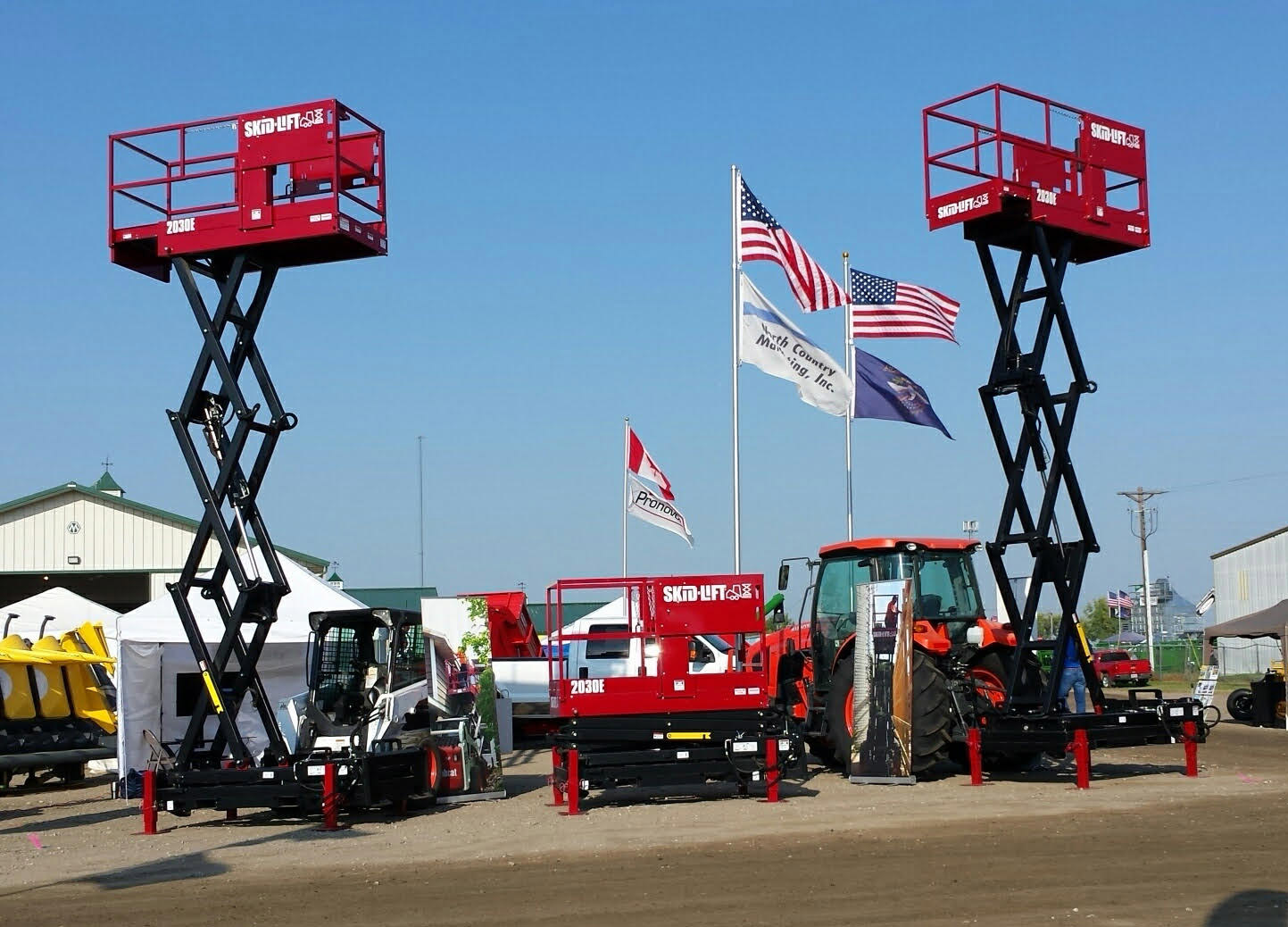 Skid-Lift at the Big Iron Farm Show in North Dakota
