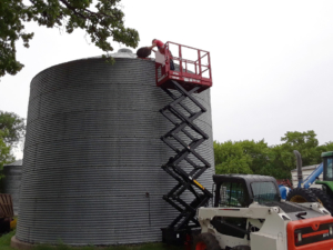 Checking the Grain Bin with the 2230S