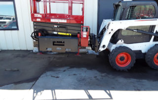 Skid-Lift with End Attach Plate