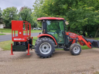 Farmall 40 with 1530S Up on 3 Point Attachment