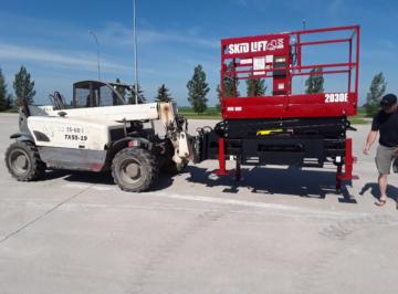 Terex Telehandler Lifting Skid-Lift with End Attach